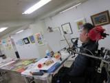 口と足で描いた絵の春の特別絵画展(@市ヶ谷)への画像(1枚目)