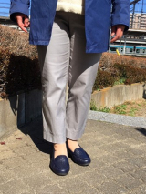 AKAISHI パンチングデザインが涼しげ!春夏フラットシューズの画像(14枚目)