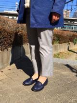 AKAISHI パンチングデザインが涼しげ!春夏フラットシューズの画像(15枚目)