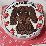 お世話になっている友人のお店が記念日だったので仲間でパーティー🎉🎉そこでオリジナルのケーキ🍰登場❗あまりの可愛さにみんな感激😆😆#フォトジェアニバーサリー #cakejp#ロゴ#ロゴケーキ#イラス…のInstagram画像