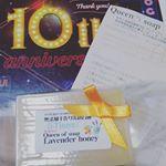 モニプラ10周年おめでとうございます。香りが素敵なせっけんを頂きました!#モニプラファンブログ10周年 #10周年 #aniversary #monipla #モニプラ運営事務局ファンサイ…のInstagram画像