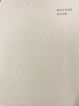 「MOTHER BOOK」の画像(1枚目)