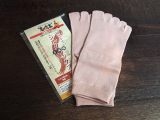 『履きやすいシルク5本指ソックス』を試してみました☆の画像(1枚目)
