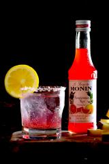 「爽やか☆グレープフルーツソーダとロックグラス【#MONIN #RCR #春のドリンク #強炭酸】」の画像(1枚目)