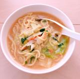 キンレイ お水がいらない 味噌野菜らーめん幸楽苑 4食セットの画像(2枚目)