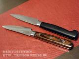 「翁流ダマスカスシリーズのペティナイフを使ってみた結果。」の画像(3枚目)
