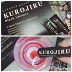 ..お気に入りの美容垢の方がチャコールクレンズ試してて、私も気になってたからお試し〜☺️💕.#kurojiru ( @kurojiru_b )4.18から販売開始♡.ヤ…のInstagram画像