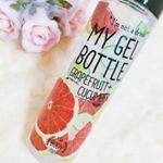 コスメレシピの持ち運びたくなるマイジェルボトルをお試ししました…♡..マイジェルボトル各2種類 200ml ¥2.000..種類は2種類あります。・アロエ+レモン・グレ…のInstagram画像