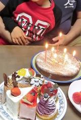 ケーキ一杯の誕生日の画像(3枚目)