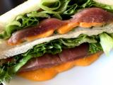 ☆元気の出る簡単朝ごはん☆とろけるハムチーズサンドイッチ@GABANパプリカパウダーの画像(6枚目)