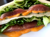 ☆元気の出る簡単朝ごはん☆とろけるハムチーズサンドイッチ@GABANパプリカパウダーの画像(1枚目)