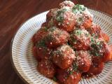 完熟トマトソースで簡単♪ご飯がススム ミートボールの画像(5枚目)