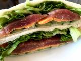 ☆元気の出る簡単朝ごはん☆とろけるハムチーズサンドイッチ@GABANパプリカパウダーの画像(3枚目)