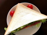 ☆元気の出る簡単朝ごはん☆とろけるハムチーズサンドイッチ@GABANパプリカパウダーの画像(4枚目)