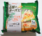 お昼ご飯は・・・😋明治 4種のチーズピッツァの画像(1枚目)