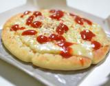 お昼ご飯は・・・😋明治 4種のチーズピッツァの画像(5枚目)