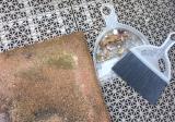 リンレイ 玄関ベランダ専用洗剤で大掃除!の画像(5枚目)
