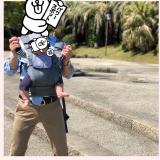 口コミ記事「前向き抱っこでお散歩♡」の画像