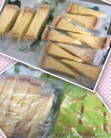 「コストコのチーズタルトが美味しい(^_-)-☆」の画像(6枚目)