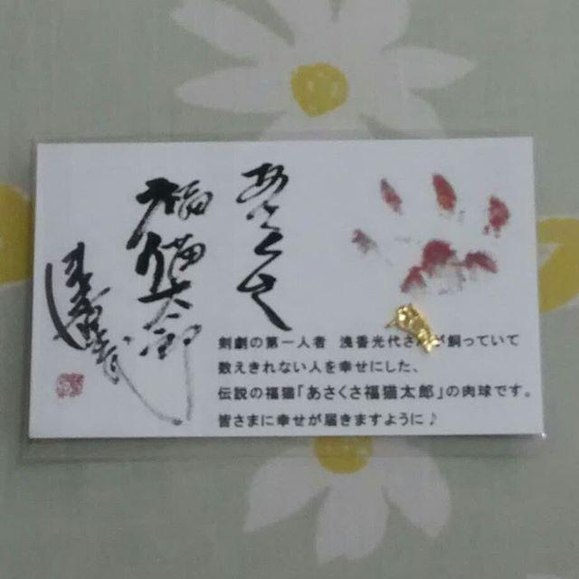 口コミ投稿:開運 純金メッキ 豆お守りあさくさ福猫太郎、今回初めて知りました!こちらは、浅…