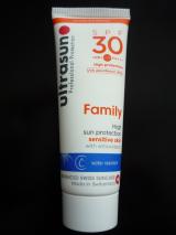スイス 敏感肌用日焼け止め アルトラサン ファミリー SPF30 試しました!の画像(1枚目)