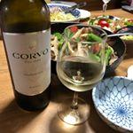 イタリアシチリア産の白ワイン「コルヴォ・ビアンコ」を飲んでみました♪シチリア産の伝統的なブドウだけで造られた「コルヴォ」は、イタリアでの販売量No.1のブランドで、イタリア中で愛されている白ワイン…のInstagram画像