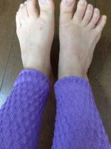 温むすびのシルクの健康足首ウォーマーの画像(3枚目)