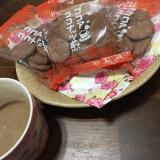新発売☆くせになる 老舗もち吉 ココアココナッツ煎の画像(1枚目)