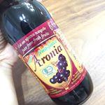 アロニア果汁、ヨーグルトにかけて食べるよ❤️ポリフェノールとアントシアニンがブルーベリーの5倍だって!最強😍..#aroniada #monipla #中垣技術士事務所ファンサイト参加…のInstagram画像