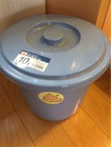 「オムツを卒業しても使い続けられる素敵なトルコ製オムツゴミ箱bubula - ゆずのバカヤロー、16年」の画像(4枚目)
