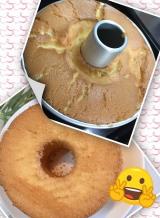 久しぶりにシフォンケーキを焼きました・・・の画像(1枚目)