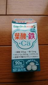 Beanstalkmom 葉酸+鉄+カルシウム^^の画像(2枚目)