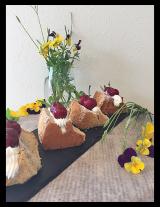 口コミ記事「メヴェダハニーで紅茶のシフォンケーキ~アメリカンチェリーとホイップクリーム飾って豪華になりました」の画像