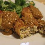 五島の鯛の出汁を使ったカレーをモニターさせていただきました✨和風ということもあり、馴染みのある味わいながらもスパイスは本格的で美味しい💕鶏とキャベツのコロッケにかけるカレーソースとして食べ…のInstagram画像