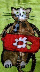 ☆ 【口と足で描く芸術家協会】の素敵なバスタオル ☆の画像(11枚目)