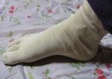 「シルクを綿で守る5本指靴下」を履いてみました。の画像(7枚目)