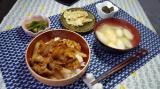 スタミナ丼定食の画像(1枚目)