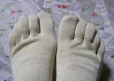「シルクを綿で守る5本指靴下」を履いてみました。の画像(6枚目)