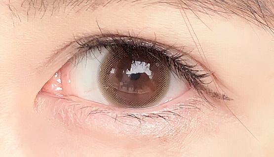 口コミ投稿:#アレグロ#アレグロ2ウィークDIA 14.0mm BC 8.6mmcolor ワルツモカ..瞳馴染みのいい…