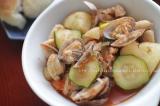 あさりと鶏肉のトマト煮込みの画像(2枚目)