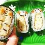 ☺ぴたっとおにぎり+白身魚揚げいり🌈✨.@ichimasa_official さんの白身魚揚げを軽くフライパンで炒めて#海苔 とごはんでぴたっとはさみました!いちまさねり弁キャンペーン…のInstagram画像