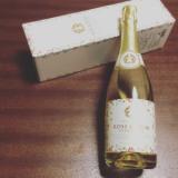 「五代庵バラ梅酒スパークリングで記念日お祝い♪」の画像(1枚目)