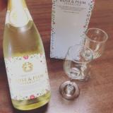 「五代庵バラ梅酒スパークリングで記念日お祝い♪」の画像(2枚目)