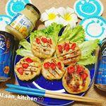 ☺カニカマの春キャベツたっぷり餃子🌈✨.@ichimasa_official さんの#カニカマ をたくさん使って春キャベツもたくさん入れて#塩レモン も入れて皮も手作り(笑)…のInstagram画像