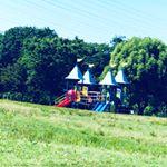 公園5時間(´༎ຶོρ༎ຶོ`)強風で息できーん。結果、肌ばさばさ。娘、楽しかったならそれでよし!全力保湿。#rozebe #ロゼべ #ニキビケア #美白化粧水 #monipla …のInstagram画像