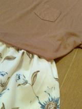 「てろゆるの夏Tシャツで大人っぽく着こなしたい」の画像(2枚目)