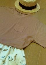 「てろゆるの夏Tシャツで大人っぽく着こなしたい」の画像(5枚目)
