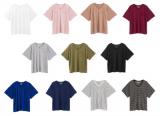 「てろゆるの夏Tシャツで大人っぽく着こなしたい」の画像(1枚目)