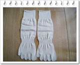シルクの5本指靴下♪の画像(3枚目)