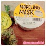 モデリングマスク Gold/500円.韓国で大人気のモデリングマスクをお試しさせていただきました〜😊🙌みなさんモデリングマスクをご存知ですか?モデリングマスクとは、クレイパック(泥パッ…のInstagram画像